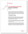 "Download the free control chart white paper ""Five Costly Mistakes Applying SPC (and how to avoid them)"" from PQ Systems"